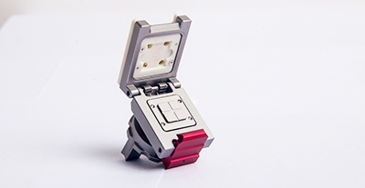 What are the characteristics of custom IC test sockets?