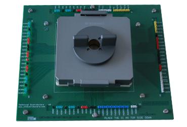 CQFP84 function test socket