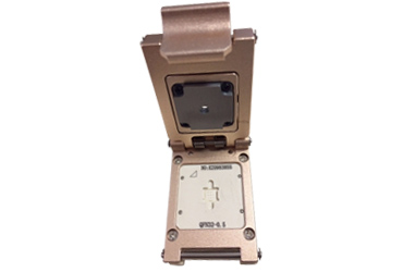 QFN32 15GHz high frequency test stand