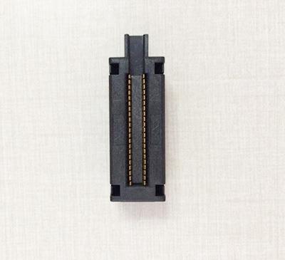 SMT/SMD capacitor burn in test socket