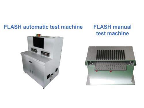 FLASH test/programming automatic test machine