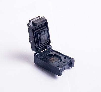 BGA152/132 clamshell burn in socket