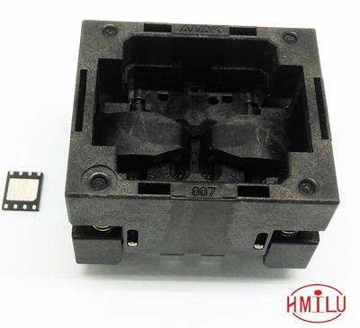 QFN8-1.27-8*6 OPEN-TOP socket