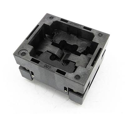 BGA80 OPEN TOP burn in socket pitch 1.0mm