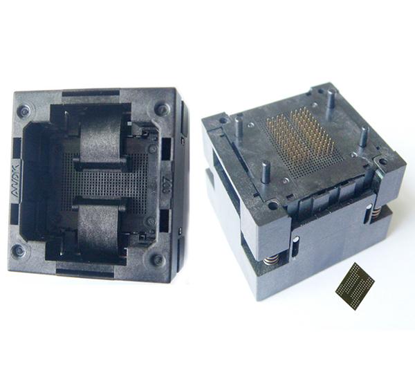 BGA132 BGA152 BGA88 Test Socket Adapter IC Test Socket Burn in S