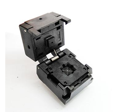 QFN32 MLF32 -0.4mm clamshell burn in socket