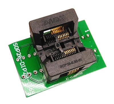SSOP8(28)-0.65 to dip 8 programming socket