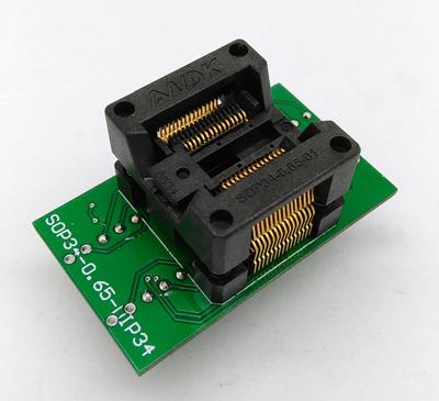 SSOP30-(34) TSSOP30 to DIP30 Programming Socket Adapter