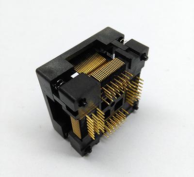TQFP80 FQFP80 QFP80 Burn in Socket