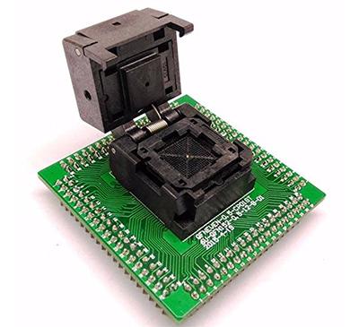 QFN52 MLF52 IC Test Socket