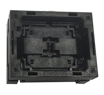 QFN40 MLF40 0.4MM 5*5 Open top burn in socket