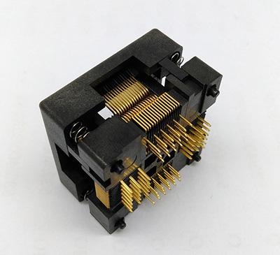 QFP64 TQFP64 LQFP64 Open top Structure Burn in Socket