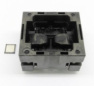 QFN56 MLF56 WLCSP56 0.5 8*8 burn in socket