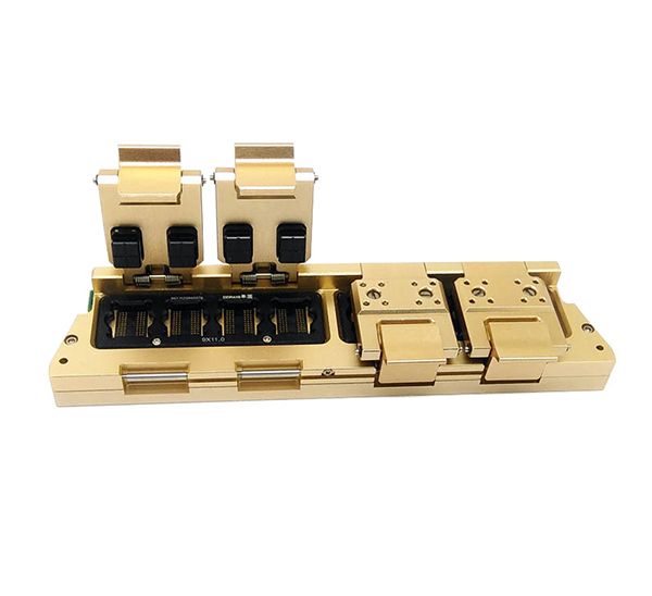 DDR4 chip particle test jig With GCR contact part for high frequ