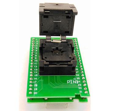 QFN40 MLF40 0.5 6*6 clamshell programming  Socket
