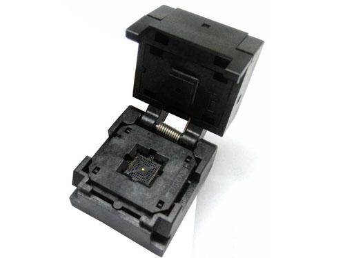 QFN48-0.4-6*6 clamshell burn in socket