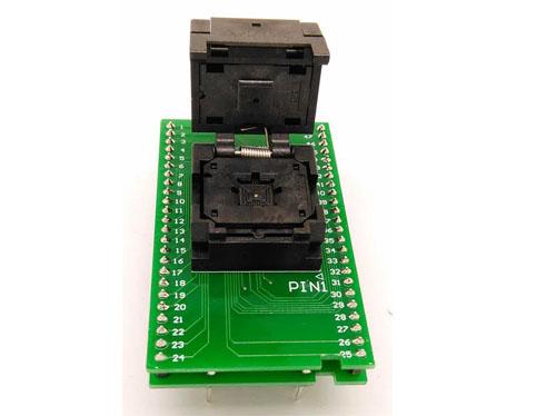 QFN48-0.5 7*7 programming adapter