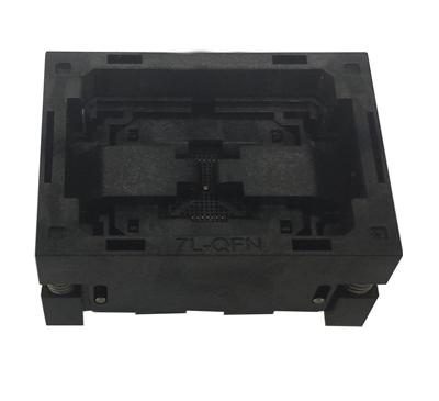QFN52 -0.4 7*7 open top burn in socket