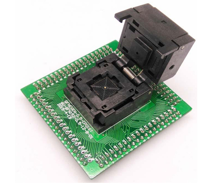 QFN56 0.5 8*8 clamshell adapter