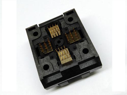 QFP48 0.5 Clamshell burn in socket
