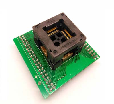 TQFP80 FQFP80 QFP80 programming socket