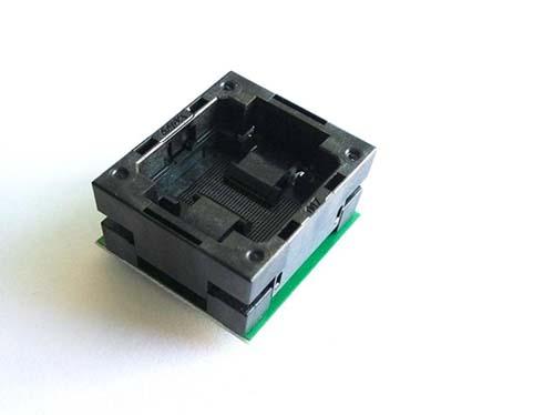 BGA132 to dip 48 open top socket