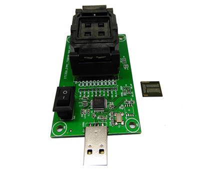 High Quality eMCP221 Socket to USB